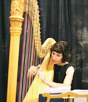 Harp by Dian – Austin Wedding Harpist bio picture